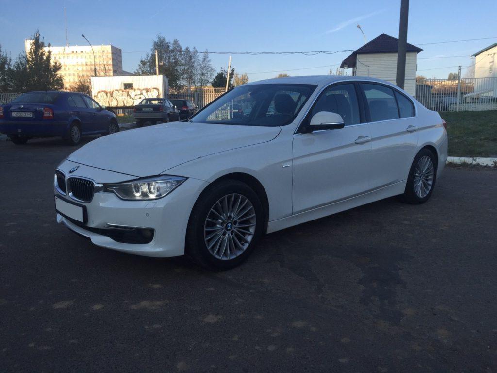Аренда BMW 320 F30