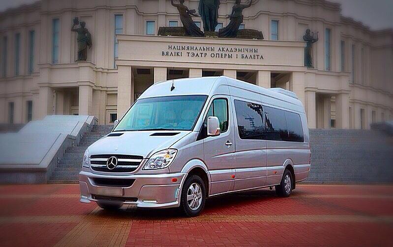 Аренда и прокат Микроавтобус MERCEDES 19 мест