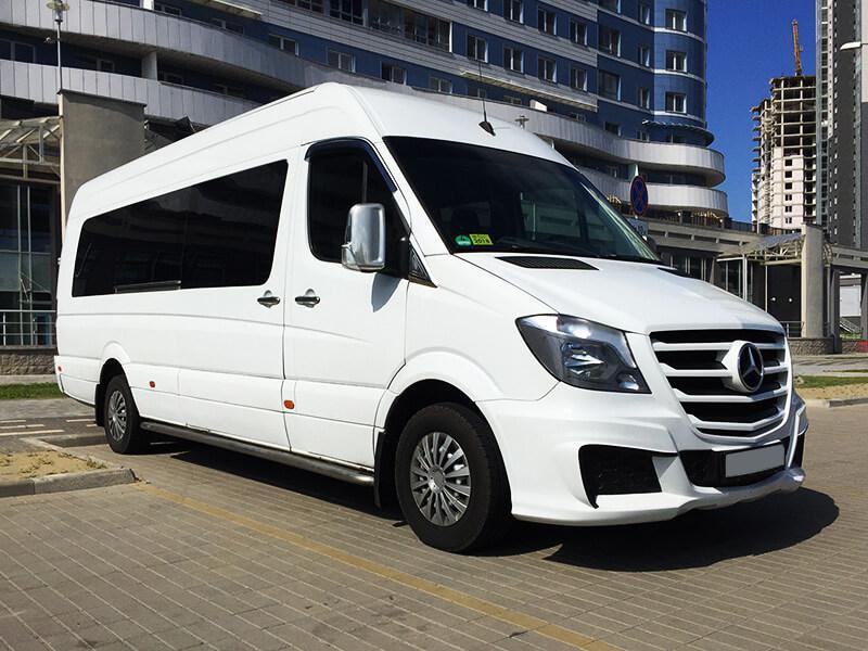 Микроавтобус MERCEDES SPRINTER 21 место